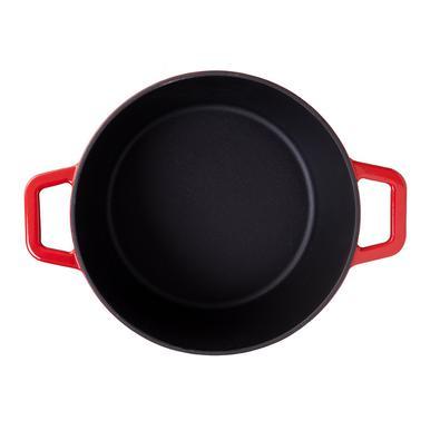 Caçarola de Ferro Fundido 20cm 2,5L Sauté Haus Vermelha 57503/150