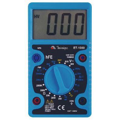 Multímetro Digital Et-1000