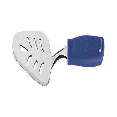 Espátula para Bolo Tramontina Utilitá em Aço Inox com Cabo de Polipropileno Azul Tramontina