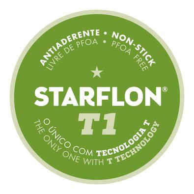 Jogo de Panelas Tramontina Loreto Alumínio Revestimento Antiaderente Starflon Vermelho  Pçs Tramontina