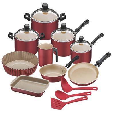 Kit para Cozinha de Alumínio com Revestimento Interno de Antiaderente 12 Peças Tramontina