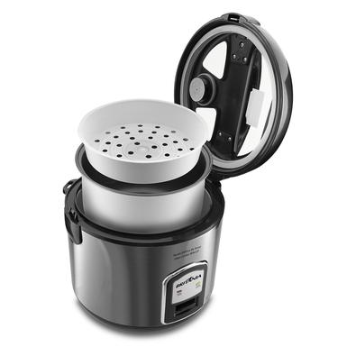 Panela de Arroz Glass Cooker BPA12P Preta 12 xícaras 127V BRITÂNIA