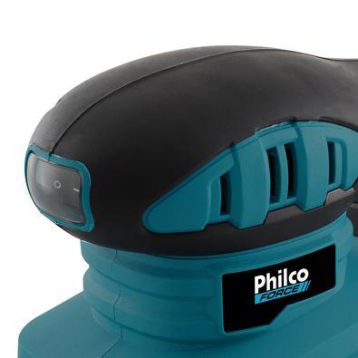 Lixadeira Philco PLO01 Com Bocal Para Sucção de Sujeira 220V