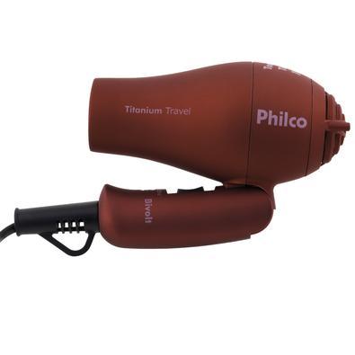 Secador de Cabelo Philco Titanium Travel 750W Bivolt