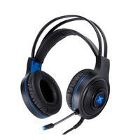 Fone de Ouvido Headset Gamer GH300 VX Gaming Lugh Led Azul USB c/ Microfone