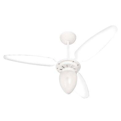 Ventilador de Teto Ventisol Wind, 220V, Branco / Transparente