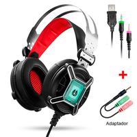 Headset Gamer DIGITAL LED, Preto - MH9