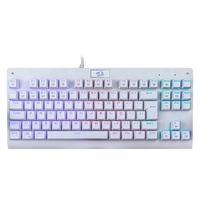 Teclado Mecânico Gamer Redragon Dark Avenger Branco Switch Outemu Red RGB ABNT2 - K568W-RGB (RED)