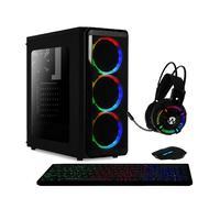 Computador Gamer AMD 6-Core, CPU 3.8Ghz, 8GB, Radeon R5 2GB, SSD 240GB, Kit Gamer Skill