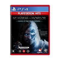 Game Terra-Média: Sombras de Mordor (GOTY) - PS4