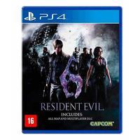 Game Resident Evil 6 - PS4
