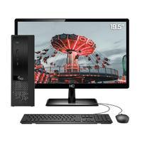 Computador Completo 3green Exclusive Intel Core i5 12GB com SSD 60GB e HD 2TB Wifi Dual Band Monitor 19,5´´ HDMI PC CPU