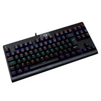 Teclado Mecânico Gamer Redragon Dark Avenger, Switch Outemu Blue, LED Rainbow, ABNT2 - K568R (BLUE)