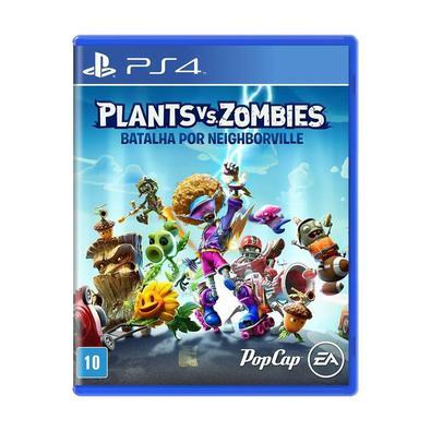 Jogo Plants Vs Zombies - Batalha por Neighborville - Playstation 4 - Ea Games