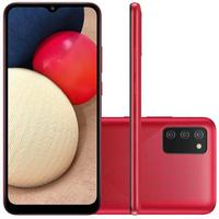 Smartphone Samsung Galaxy A02S, 32GB, Octa Core, Câmera Tripla, Tela 6,5