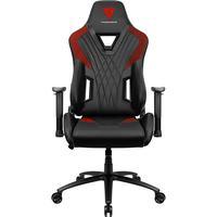 Cadeira Gamer ThanderX3 DC3, Suporta até 150Kg, Preta/Vermelha