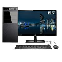 "Computador Completo Intel 7ª Gen, 4GB, SSD 240GB, Intel UHD 610, Monitor 19.5"""