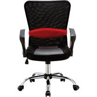 Cadeira Escritório Executiva Giratória Pelegrin com Regulagem de Altura a Gás, Preto - Pel-502