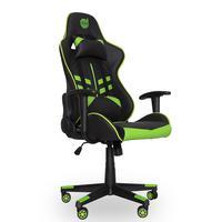 Cadeira Gamer Dazz Prime-X, Reclinável, Suporta até 250Kg, Preta e Verde