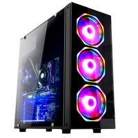 Computador Gamer Fácil Intel Core i5 9400, 16GB DDR4. AMD Radeon RX 550 4GB, SSD 480GB Fonte 500W