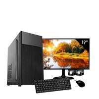 Computador Completo Corporate Asus 4° Gen I7 8gb 120gb Ssd Dvdrw Monitor 19