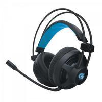 Headset Gamer Fortrek PRO H2, LED Azul, Preto