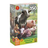 Puzzle 150 Peças Animais da Fazenda - Grow