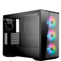 Computador Pc Gamer Fácil Intel Core I7 10700F Décima Geração, 8GB DDR4, GTX 1650 4GB, HD 1TB Cooler Master