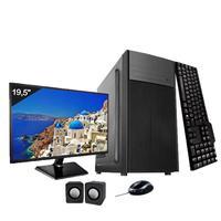 Computador Completo Icc Intel Dual Core 2.41ghz 8gb Hd 1tb Monitor 19