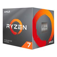 Processador AMD Ryzen 7 3700X, 3.6GHz (4.4GHz Máx. Turbo), DDR4, Socket AM4, 36MB Cache, com Cooler Wraith Prism, RGB LED
