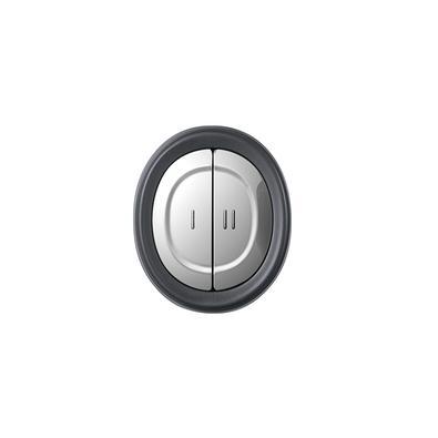 Miniprocessador Black+Decker Com Tigela de Vidro, Gourmand Gris, 220V - MP300G