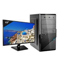 Computador Desktop Icc Iv2383dm19 Intel Core I3  8gb Hd 2tb Dvdrw Hdmi Monitor Led 19,5