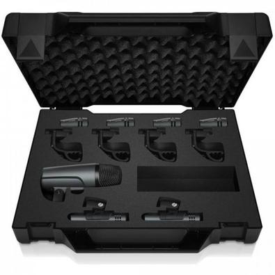 Kit Sennheiser Microfone Para Bateria E 600 Preto