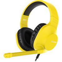 Headset Gamer Sades Spirits, Ps4, Vr, Xbox One, Pc, Amarelo