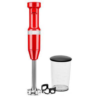 Mixer De Mão Kitchenaid Empire Red Com Velocidade Variável, Capacidade De 0,7 Litros - Keb53avana - 110v