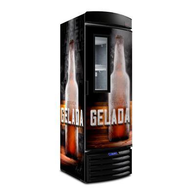 Cervejeira Vertical Metalfrio Porta Glass Viewer 387 Litros Adesivada Vn44fl 110v 110v