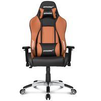 Cadeira Akracing Premium V2, Marrom