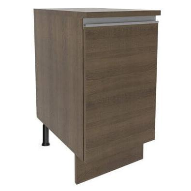 Balcão Madesa Glamy 40 cm 1 Porta Rustic Cor:Rustic