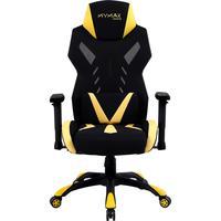 Cadeira Gamer Mx13 Giratoria Preto/amarelo Mymax