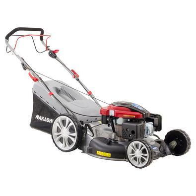 Cortador De Grama A Gasolina 4t Nakashi Lr-225-t Com Tração 6.5hp