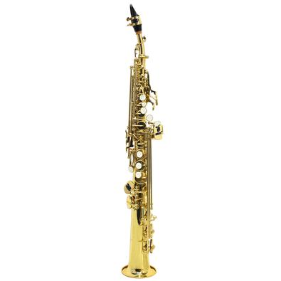 Saxofone Soprano Reto BB Sib Bemol Laqueado com Case