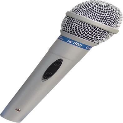 Microfone Profissional Com Fio 5 Metros Mc-200