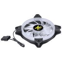 FAN/COOLER VX Gaming para Gabinete, V.RING, ANEL de LED, 120X120MM, Branco