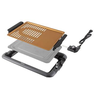 Churrasqueira Elétrica Philco 1500W antiaderente PCQ1500D 110v