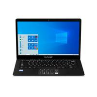 Notebook Multilaser Legacy Book, Windows 10 Home, Processador Intel Celeron, Memoria 4GB, 64GB, Tela 14.1 Pol, Preto - Pc250