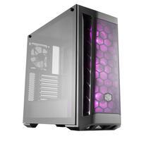 Gabinete Gamer Cooler Master Masterbox MB511 RGB Mid Tower Lateral Vidro Fans RGB MCB-B511D-KGNN-RGB