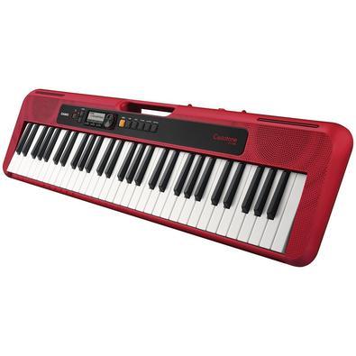 Teclado Musical Casiotone Basico Digital Vermelho Ct-s200rdc2-br