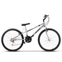 Bicicleta Ultra Aro 26 Rebaixada Freio V Break Chrome Line Cromada
