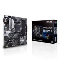 Placa Mãe Asus Prime B550M-A AMD AM4 mATX DDR4 - 90MB14I0-M0EAY0