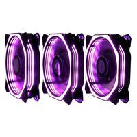 Kit Cooler Com 3 Fan Rise Mode Rgb Aura 120mm - Rm-au-02-rgb